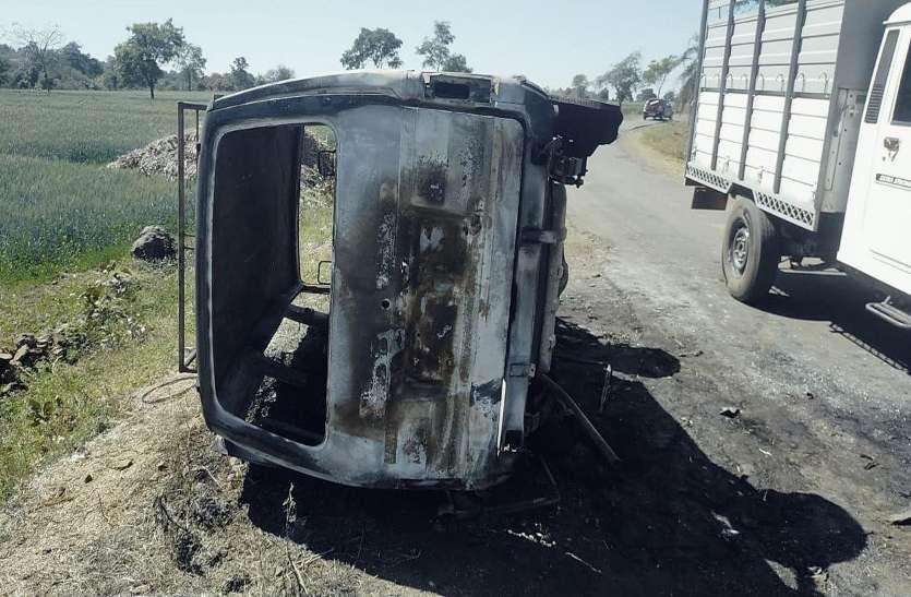 Accident: 12 छात्रों को स्कूल ले जा रही वैन में लगी आग, सुबह हुई घटना, पढ़ें पूरी खबर