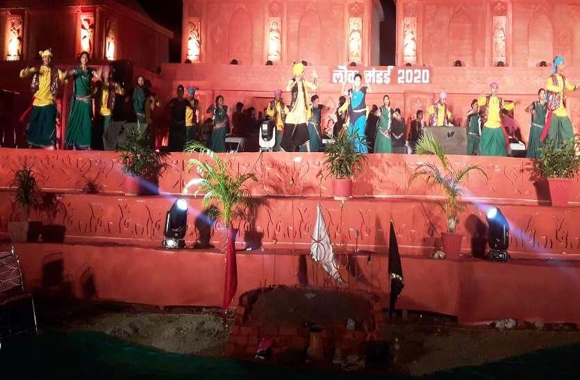 सेवता राजा के एतिहासिक पृष्ठभूमि की जीवंत प्रदर्शनी रहा आकर्षण का केन्द्र