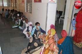 VIDEO : पाली: सिलिकोसिस मरीजों को प्रमाण पत्र के लिए दिनभर करना पड़ा इंतजार, तीन फर्जी मरीजों को पकड़ा
