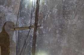 सुरक्षा में सेंध : रस्सी का झूला बनाकर प्लांट में घुसे चोर, निकाला स्क्रेप