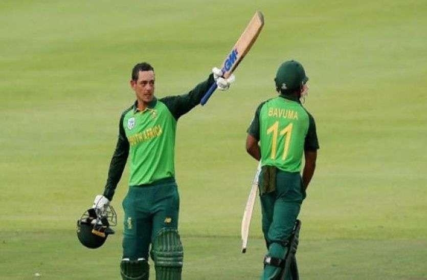 ऑस्ट्रेलिया के खिलाफ दक्षिण अफ्रीका की टी-20 टीम का ऐलान, डिकॉक को मिली कप्तानी