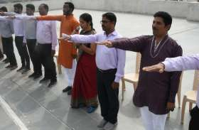 स्वर्णिम भारत अभियान : विद्यार्थियों ने दोहराई स्वच्छता की शपथ