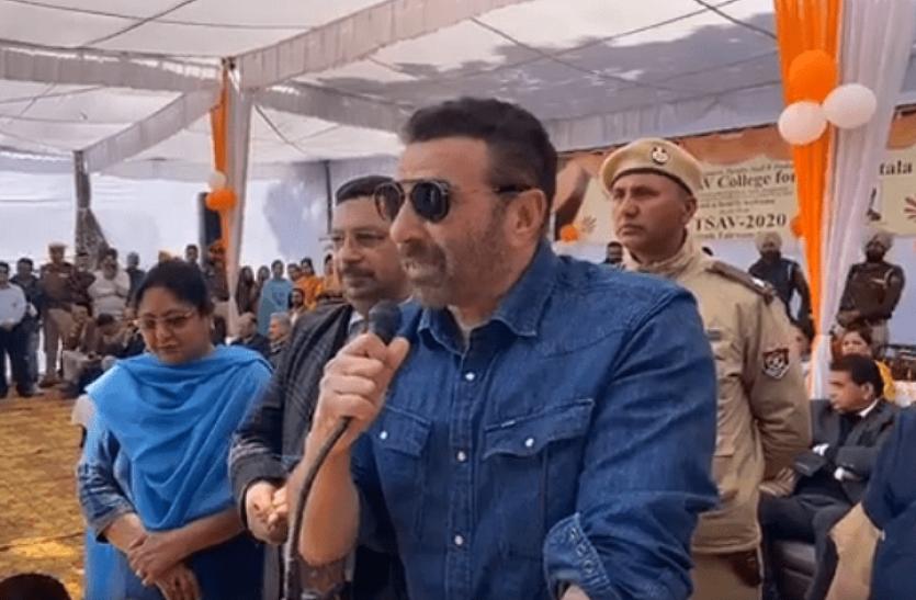सनी देओल के 'धुनाई' वाले बयान पर कांग्रेस का हमला, कहा-अभिनेता को नेता बनाया BJP की गलती