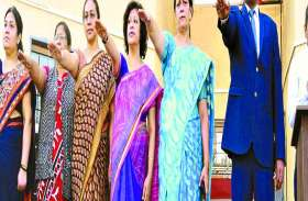 स्वर्णिम भारत अभियान : ली शपथ विद्यार्थियों के योगदान से ही देश बनेगा सुन्दर