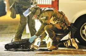 जर्मनी के दो बार में बरसाई गोलियां, नौ की मौत