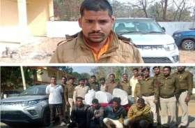 नवनिर्वाचित बीडीसी लक्जरी कार में 3 दोस्तों के साथ ओडिशा से कर रहा था गांजे की तस्करी, पुलिस ने किया गिरफ्तार
