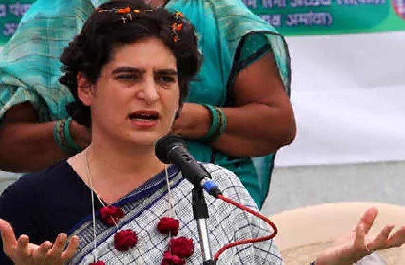 ऑक्सीजन की कमी से कोई मौत नहीं हुई, केंद्र सरकार के बयान पर भड़की प्रियंका गांधी