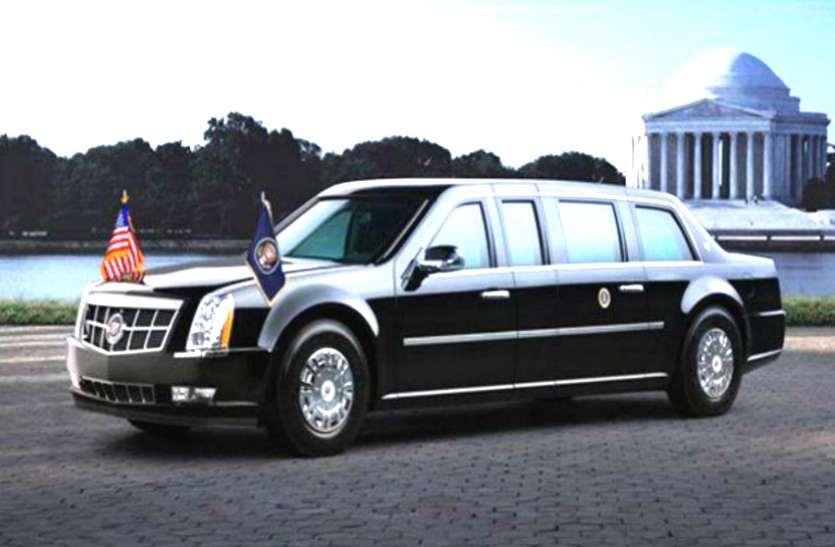 Donald Trump की The Beast Car की ये खूबियां जान हो जाएंगे हैरान, मिसाइल हमला भी बेअसर, पंचर होने पर भी दौड़ती है उसी रफ्तार से