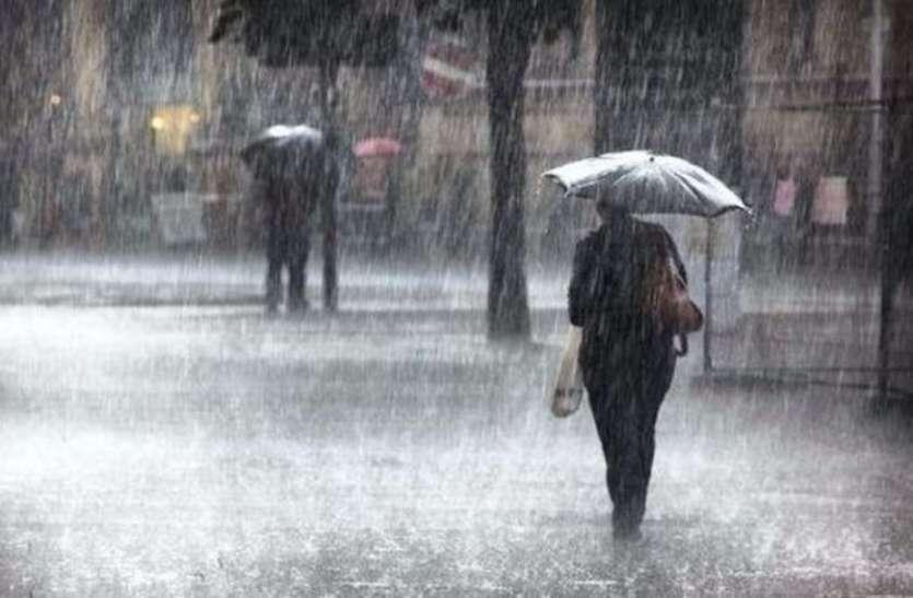 छत्तीसगढ़ में चक्रवात के असर से फिर बदला मौसम का मिजाज, तेज बारिश के साथ जमकर बरसे ओले