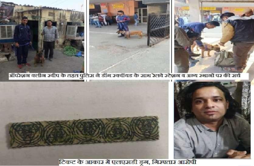 जयपुर में विदेशी ड्रग का भी चलन, छात्र के साथ पकड़ी एलएसडी ड्रग