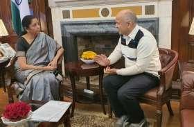 निर्मला सीतारमण से मिले दिल्ली के वित्त मंत्री सिसोदिया, MCD के लिए मांगा फंड