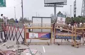 फरीदाबाद का खुला रास्ता फिर बंद, ज़िम्मेदारों ने साधा मौन