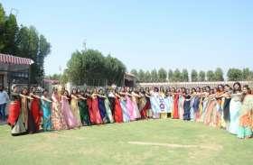 swarnim bharat : छात्राओं ने कहा करेंगे प्लास्टिक का बहिष्कार, लाएंगे कॉलेज में स्वच्छता की बहार