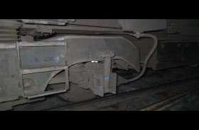 Moradabad: सप्तक्रांति एक्सप्रेस का इंजन शंटिंग के दौरान हुआ डिरेल, टला बड़ा हादसा