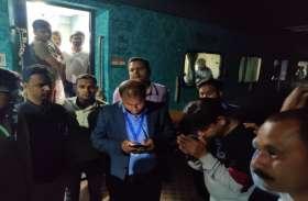 काशी-महाकाल ट्रेन में शराबियों ने किया हंगामा