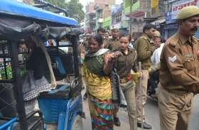 भारत बंद के दौरान प्रदर्शन, पुलिस ने किया लाठीचार्ज, कई कार्यकर्ता गिरफ्तार