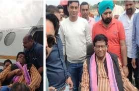 डिस्चार्ज होते ही शासकीय विमान से रायपुर रवाना हुए अजीत जोगी, राजमाता के 13वीं कार्यक्रम में बिगड़ गई थी तबियत