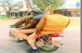 अलवर में पुलिस ही उड़ा रही अपने नियमों का मखौल