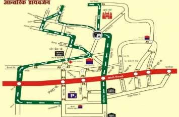 ईदगाह बस अड्डा पूरी तरह बंद, वीआईपी रोड पर दो बजे से आवाजाही पर रोक