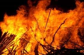 West Bengal: तृणमूल समर्थकों ने भाजपा के 7 समर्थकों का घर फूंका