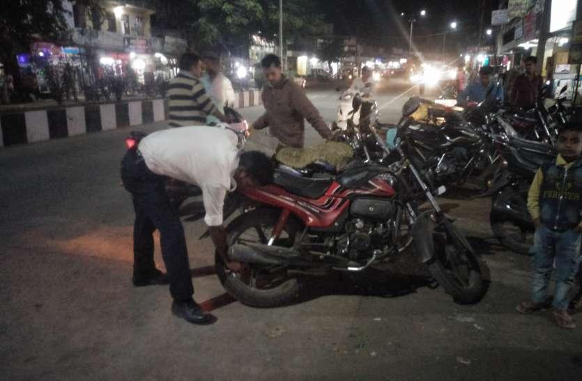 यातायात सुधारने पुलिस ने ये बड़ी कार्रवाई