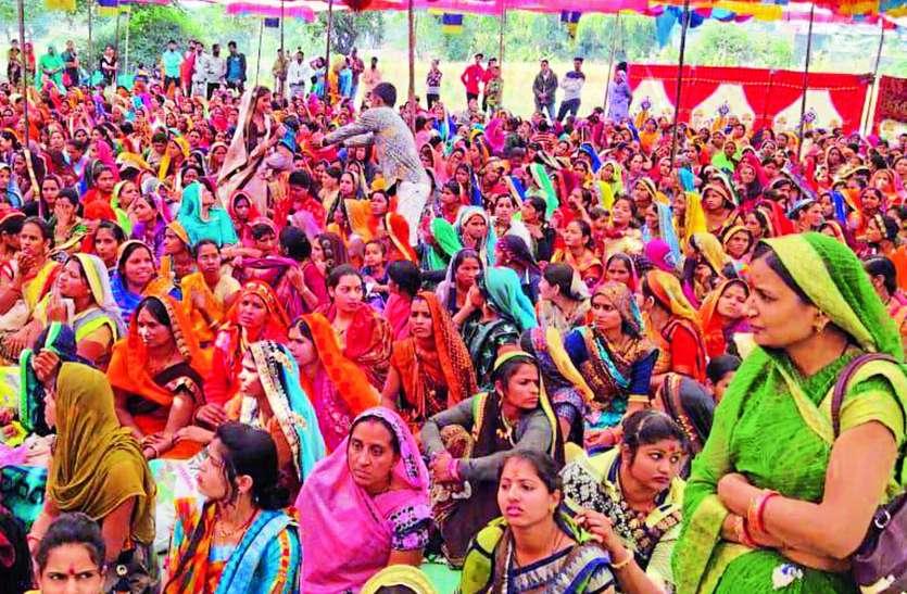 सूनी गोद को भरने के लिए महिलाओं ने ग्रहण की खीर