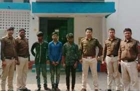 चोरी की घटना का हुआ खुलासा, पांच युवकों ने मिलकर घटना को दिया था अंजाम, जानिए पुलिस ने कैसे पकड़ा