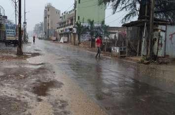 बेमौसम बारिश : खतरे में तीन अरब से ज्यादा का धान, किसानों की बढ़ी चिंता, तिवरा, अलसी, अरहर पर भी असर