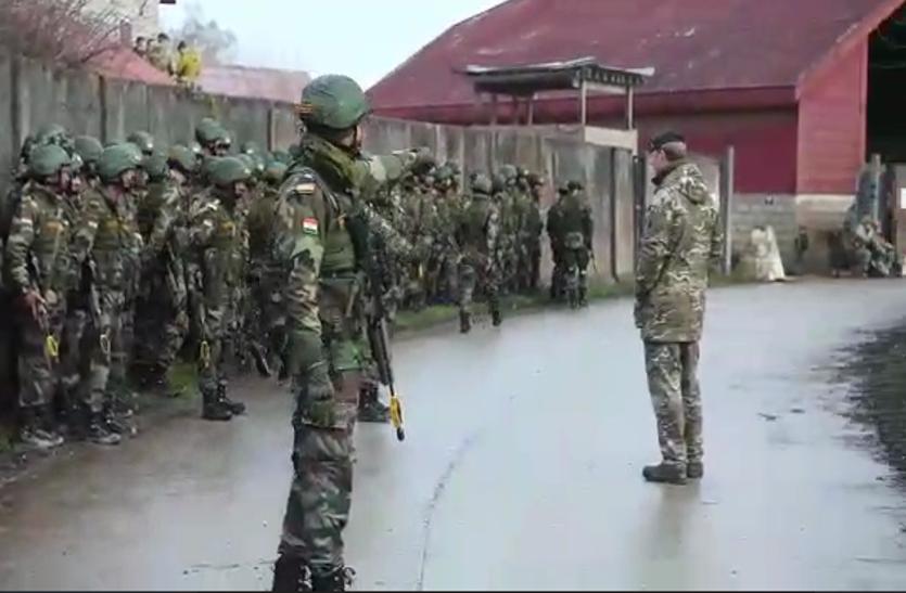 VIDEO: India और UK की सेनाओं ने किया युद्ध कौशल का प्रदर्शन, आतंकियों की खैर नहीं