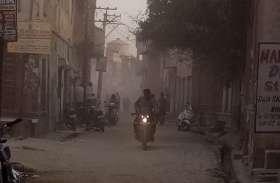 सीवरेज के लिए खुदी सड़कों की धूल बनी परेशानी का सबब