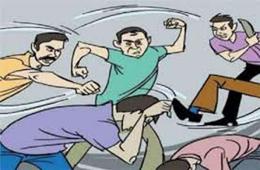 गुण्डा टैक्स न देने पर युवक को पीटा, जमीन में पटककर तोड़ दिया मोबाइल
