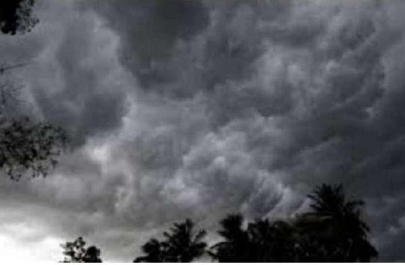 आंधी-बारिश के साथ गिरे ओले, खेतों में बिछी फसल, वैज्ञानिक बोले अब ऐसा रहेगा मौसम