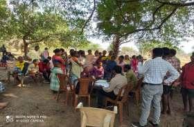 पोटाली में पुलिस कैंप के लिए जमीन देने राजी हुए ग्रामीण, आम सहमति से पास हुआ प्रस्ताव