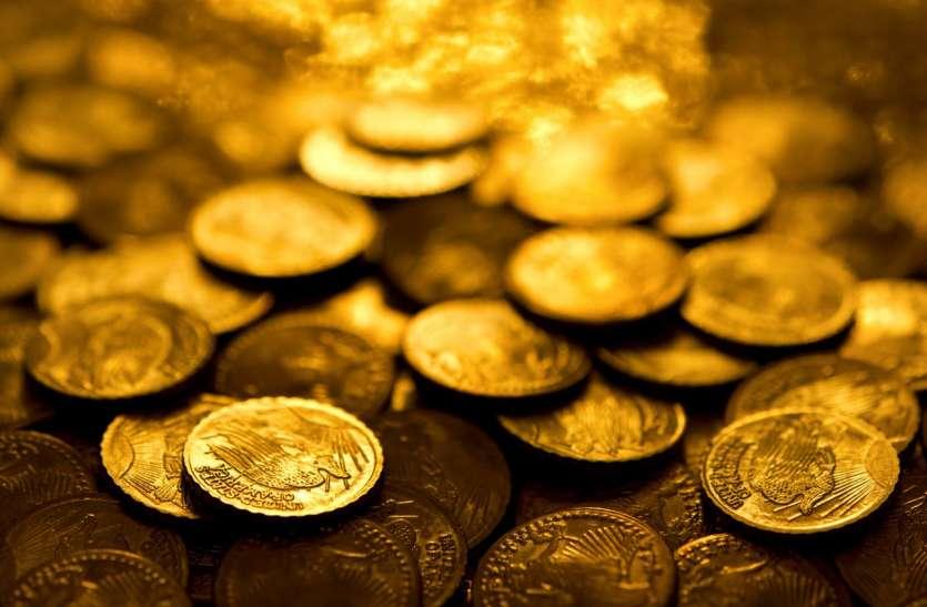 पांच दिनों में सोना 1300 रुपए, चांदी 3600 रुपए गिरावट