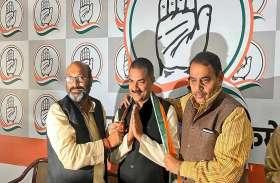 यूपी में आम आदमी पार्टी को बड़ा झटका, संजीव सिंह सैकड़ों समर्थकों के साथ कांग्रेस में शामिल