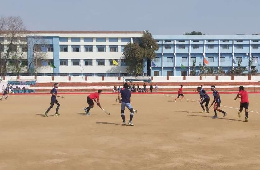 अखिल भारतीय गणतंत्र दिवस हॉकी टूर्नामेंट में हैदराबाद 6-1 एवं राजनांदगांव 2-0 से विजयी