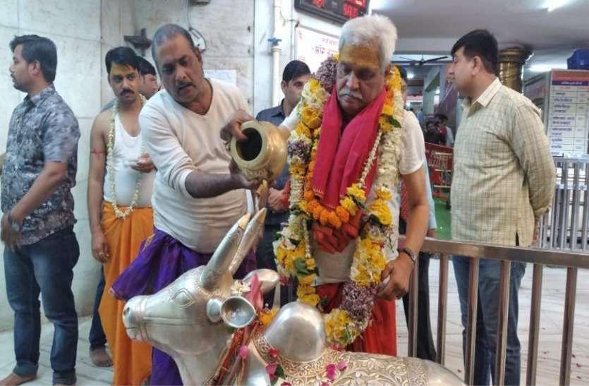 कांग्रेस के लिए देश नहीं, सोनिया गांधी ही भारत माता है- प्रभात झा