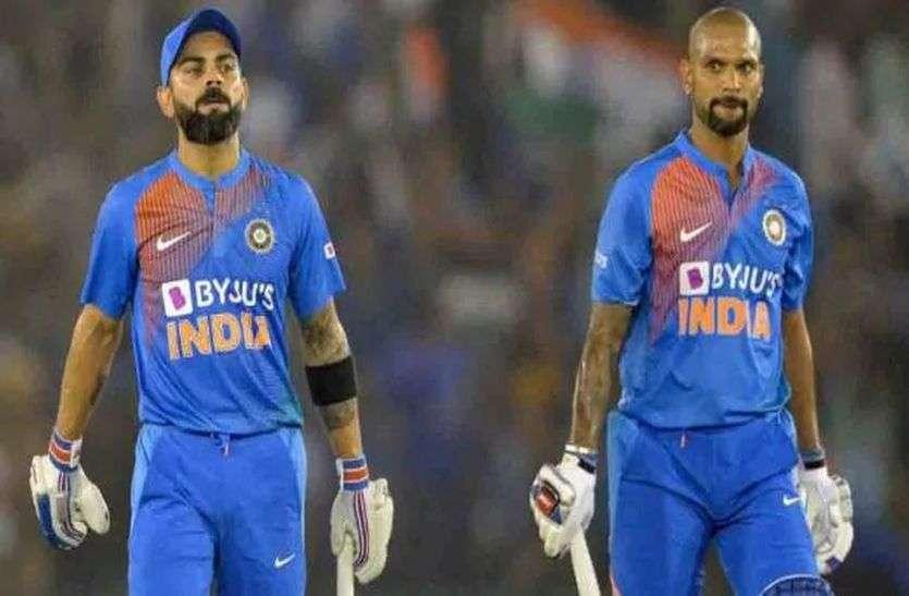 New ICC ODI Ranking Update: धवन को दो पायदान का फायदा, विराट दूसरे पर बरकरार!