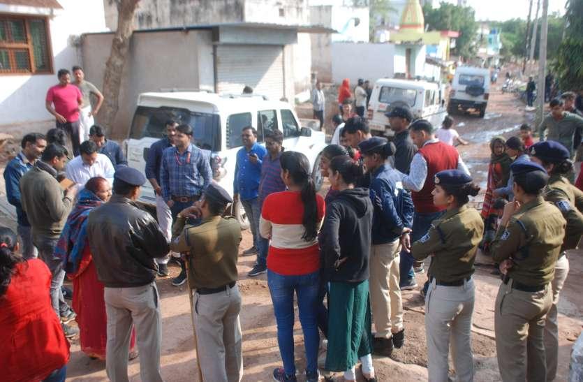 सुबह सुबह बदनापुरा में रेड, घर में घुसी पुलिस आइडी मांगी
