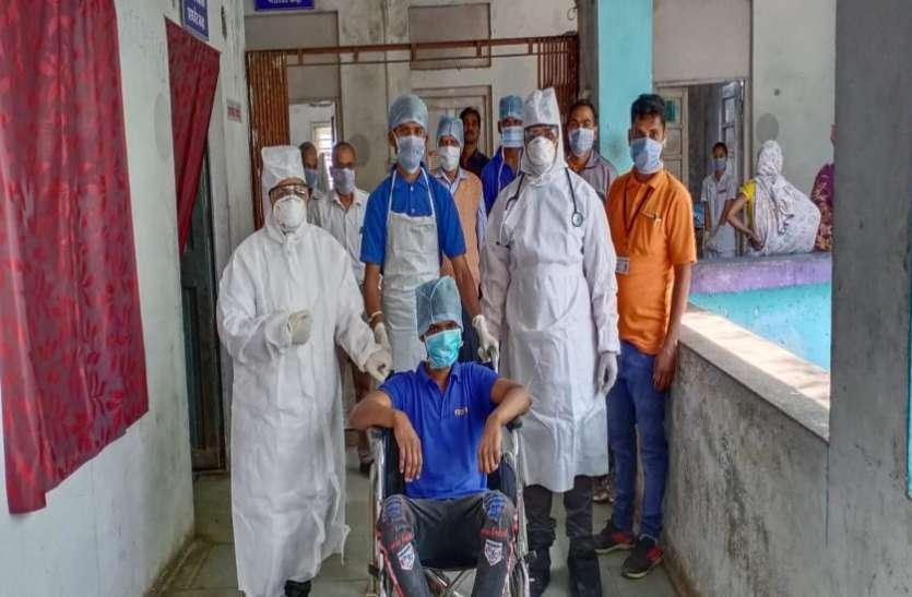 अस्पताल कोरोनो वायरस के मरीज के इलाज के लिए तैयार