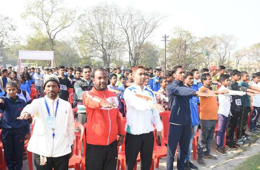 महापौर के साथ खिलाडिय़ों, स्कूली छात्र-छात्राओं समेत सैकड़ों लोगों ने ली स्वच्छता की शपथ