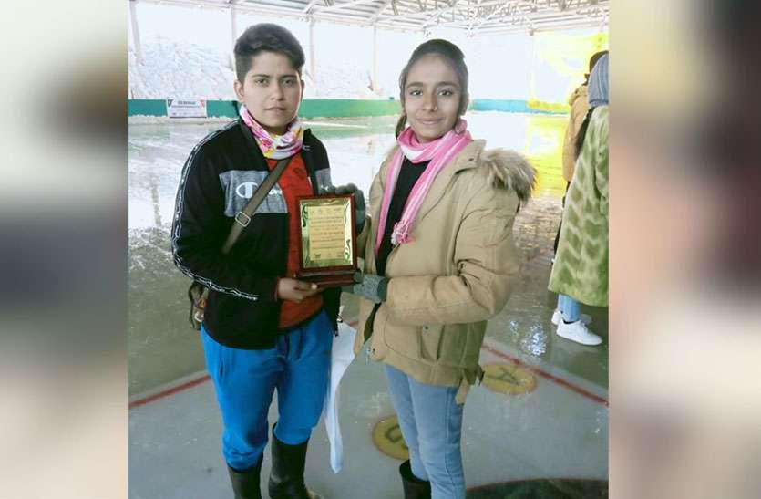 जयपुर की साक्षी शर्मा ने स्वर्ण तो टोंक की अंजली कंवर ने कांस्य पदक हासिल कर प्रदेश का नाम किया रोशन