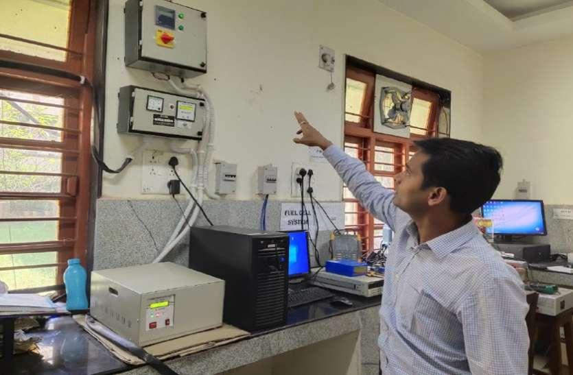 एनआईटी में एक ऐसी भी लैब जहां पंखे, लाइट और मशीने चलती हैं सोलर एनर्जी से