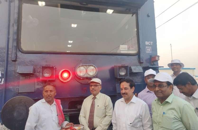 निम्बाहेड़ा शम्भुपुरा दोहरीकरण ट्रेक का 120 किमी प्रतिघंटे की गति से हुआ स्पीड ट्रायल
