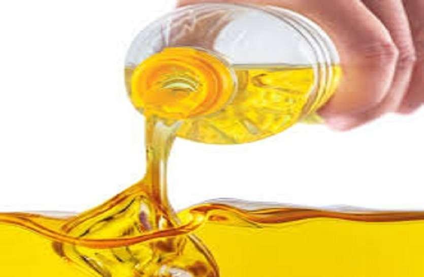 सरसों तेल व सोयाबीन रिफाइंड में गिरावट