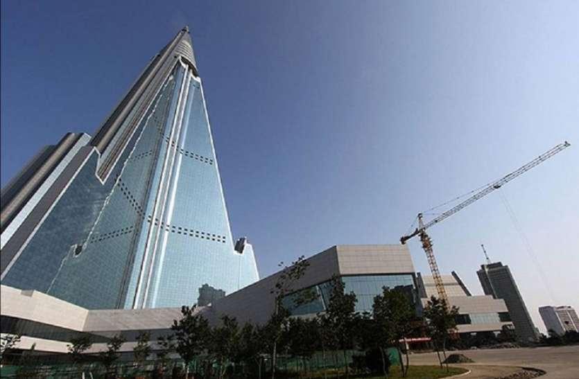 उत्तर कोरिया में है दुनिया का सबसे भुतहा होटल, 33 साल बाद भी अधूरा है काम