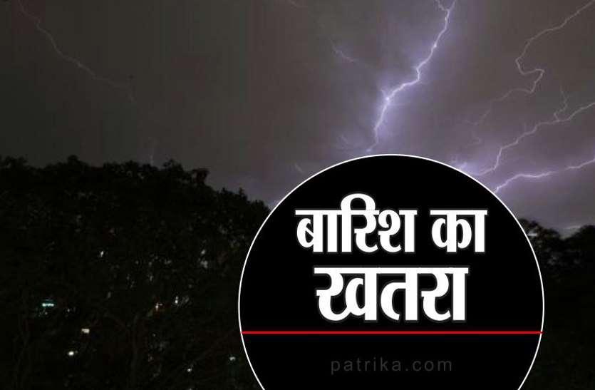heavy rain alert in gwalior chambal