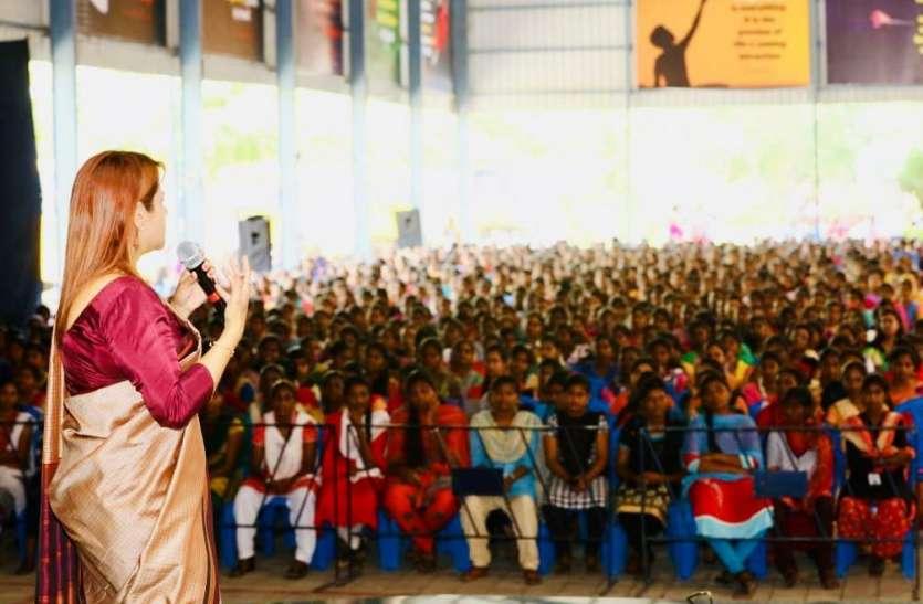 महिलाएं सशक्त होंगी तभी राष्ट्र सशक्त होगा -हर्षिता