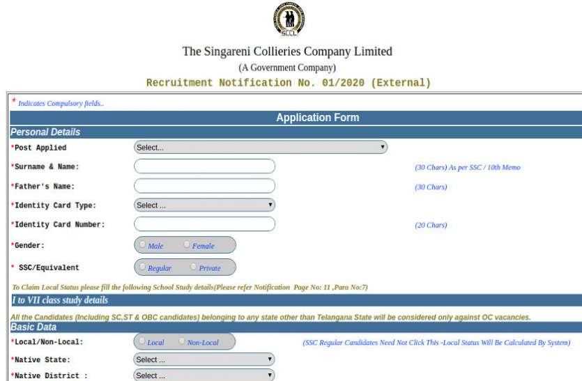 SCCL Recruitment 2020: मैनेजमेंट ट्रेनी के पदों पर भर्ती के लिए आवेदन प्रक्रिया शुरू, जानें पूरा प्रोसेस