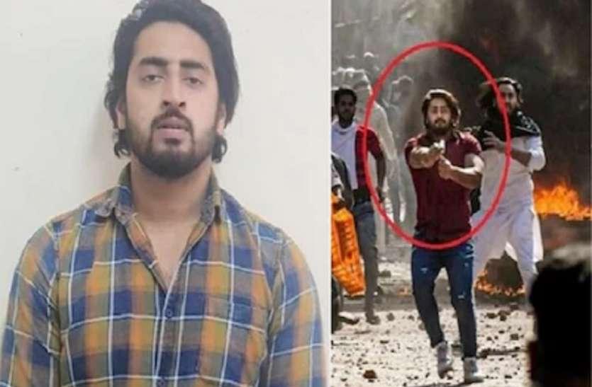 दिल्ली हिंसार: पुलिस ने हवालदार पर ताना गया शाहरुख खान का पिस्तौल बरामद किया